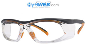 Uvex Sw06e Safety Glasses Full Rimmed Frames In Wraparound Shape From Eyeweb