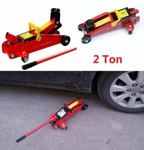 2 T Portable Floor Jack Vehicle Car Garage Auto Small Hydraulic Lift Heavy Duty