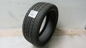 1 Delinte Thunder D7 Used Car Tire 245 35 Zr 20 95 W Tread Depth 6 5 32 T307