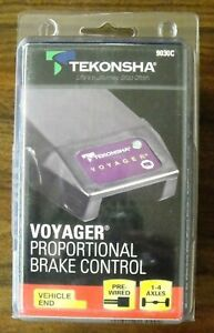 Tekonsha 9030c Voyager Proportional 4 Axle Brake Controller New Factory Sealed