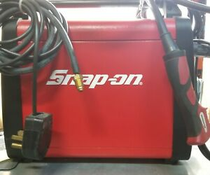 Snap On Synergic Inverter Gas gasless Wire Welder Mig160i With Aluminum Torch