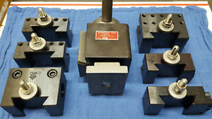 Aloris Cxa 7 Pc Set 3 Quick Change Tool Post Tool Holders
