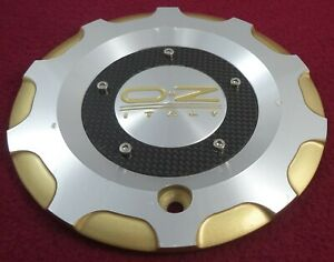 Oz Racing Wheels Silver Gold Custom Wheel Center Cap M 506 Forged 12447