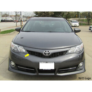 For 2012 Toyota Camry Se Front Black Hood Bumper Grill Upper Mesh Grille