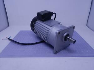 Luyang Gear Motor 1 3 Hp 110 V 1 Ph 3 A T110896