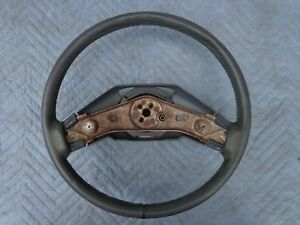 81 89 Cadillac Gray Leather Wrap Steering Wheel 82 83 84 85 86 87 88 Oem