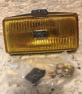 Nos Bosch Amber Yellow Driving Fog Light Interchange Hella Steel Housing H3 6 5