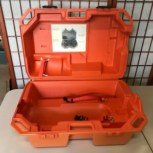 Drager Scba Orange Case Only Compressed Air Protection Draeger