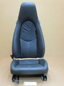06 Boxster S Rwd Porsche 987 L Front Black Leather 2 Way Seat Driver 8 642