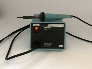 Weller Wtcpt Soldering Station Pu120t Power Unit Power On For Parts Or Repair