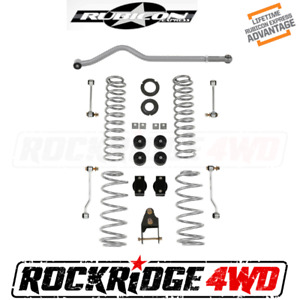 Rubicon Express 3 5 Standard Coil Lift Kit No Shocks For 18 Jeep Wrangler Jl