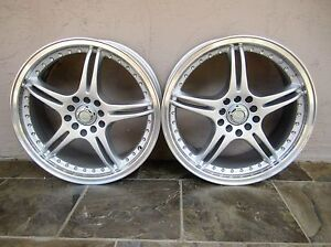 Adr Battle Exe Wheels Silver 17x7 10x100 114 3 Pair