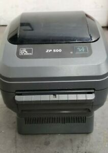 Zebra Zp500 Direct Thermal Label Barcode Printer No Cables