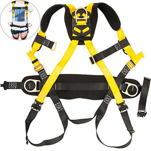 Safety Harness Construction Harness Full Body W 3 D ring Fall Protection Unisex