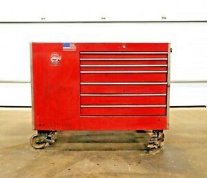 Mo 2902 Snap On Tool Box W 13 Drawer And 2 Door Cabinet
