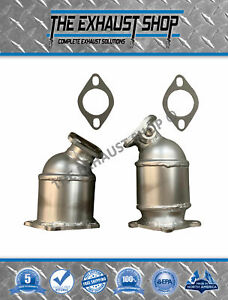 Fits 2003 2006 Hyundai Santa Fe 3 5l Bank 1 2 Catalytic Converter Set