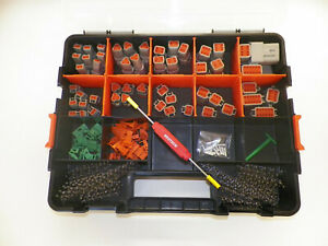 416 Pc Gray Deutsch Dt Connector Kit Stamped Contacts Removal Tools
