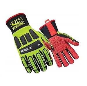 Ringers Roughneck Gloves With Tefloc Grip System 267 08 Small 1 Pair Free Ship