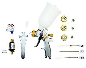 Le Lematec Paint Sprayer Spray Gun Hvlp Spray Gun Kit With Air Flow Regul