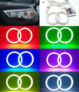Rf Cotton Rgb Led Halo Ring For Toyota 4runner 2014 2019 Headlight Angel Eye Drl