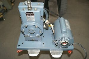 Sargent welch Duo seal Vacuum Pump Model 1405 Sn 73973