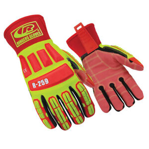 Ringers Roughneck Cut 5 Synthetic Leather Gloves R 259 medium 1 Pair Free Ship