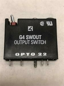 Opto 22 G4 Swout Output Switch Module G4 swout