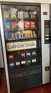 Combination Canned Soda snack Vending Machine Lcm4