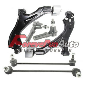 For 05 09 Chevy Equinox Torrent Lower Control Arm Ball Joint Sway Bar Kit 6pc