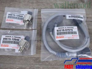 3pcs Denso Genuine Knock Sensors Harness 89615 12040 For Toyota Lexus 8221907010