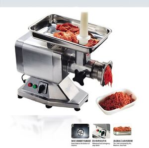 Heavy Duty Commercial Stainless Steel 1 5hp Electric Meat Grinder No 22 Etl nsf