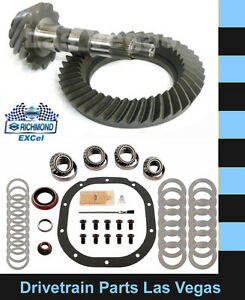 Excel Ford 8 8 10 Bolt 4 56 Ratio Ring And Pinion Gear Set Master Install Kit