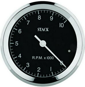 Stack St200c 08 Classic In dash 3 175 Electric Tachometer 0 8 000 Rpm