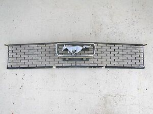 Vintage Mustang Grill With Emblem 60 s