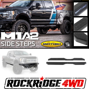 Smittybilt M1a2 Truck Side Steps Fit s 2015 2018 Ford F150 2017 2019 F250