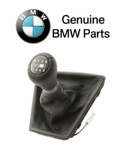 For F10 M3 M5 Manual Trans Leather Illuminated Shift Knob 6 Speed Genuine Bmw