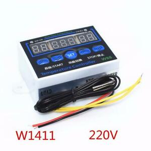 10pcs W1411 Smart Electronics Led Digital Temperature Controller Ac 220v 10a Xh