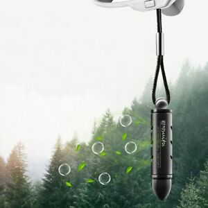 Car View Mirror Hanging Bullet Perfume Interior Solid Decoration Air Purifier