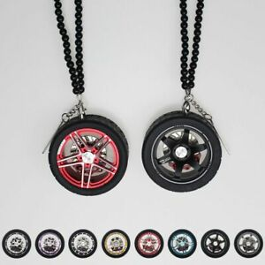 Car Wheel Hanging Decoration Keychain High Quality Interior Decoration Pendant
