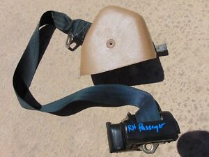 94 95 Ford Mustang Convertible Rh Pass Tan Front Seat Belt 1 1 8 Latch Tested