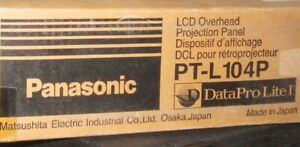 Panasonic Lcd Overhead Projection Panel Pt l104p