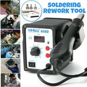 Yihua 858d Hot Air Gun Smd Soldering Station Industrial 220v Iron Welding Tool