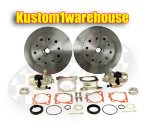 Rear Disc Brake Conversion Kit Vw Bug 1968 79 5 Lug Porsche W o Emergency Brake