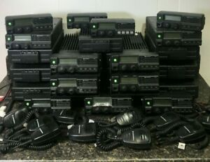 Motorola Pm1200 Low Band 37 50mhz Lot Of Radios And Accessories Free Shipping