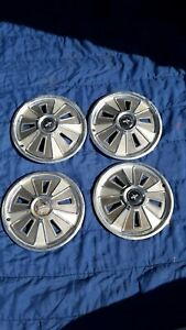 Oem Vintage Ford Mustang 1964 1965 1966 Hubcaps Set 4 Hubcap Wheel Cover