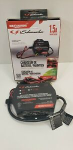 Schumacher On Board 12 Volt Battery Charger Automatic Maintainer 12v Boat Mower