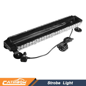 26 5 54 Led Strobe Light Bar Amber Emergency Beacon Warn Tow Truck Response