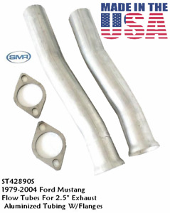 2 5 2 1 2 Ford Mustang Flow Tubes With Intermediate Pipe Cnc Mandrel Bends