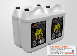 Hcpro Universal Vaccum Pump Oil 1 Gallon Size pack Of 4 Gallons