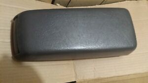 Volvo 740 940 760 780 Center Console Cover Arm Rest With Cup Holder Gray Grey